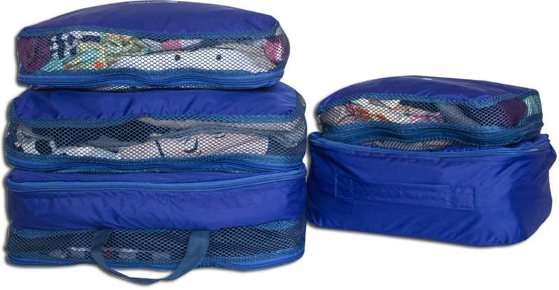 Сумки-органайзеры для вещей в чемодан ORGANIZE - цвет синий