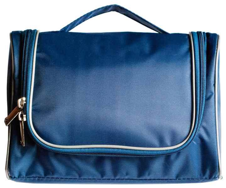 Дорожный органайзер для косметики Premium - Цвет синий