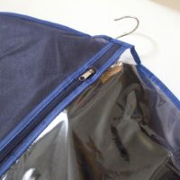 Чехол\кофр для одежды 60*150 см - Цвет синий