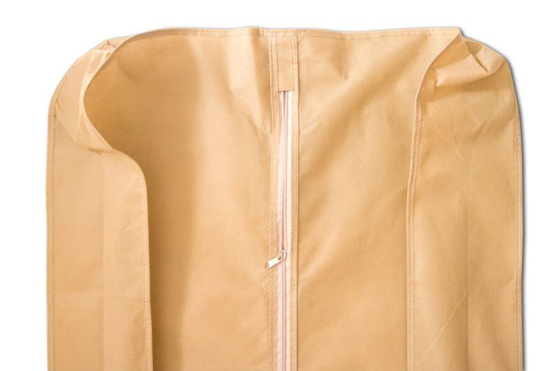 Чехол объемной для верхней одежды с ручками 60*150*15 см
