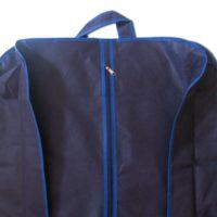 Чехол объемной для верхней одежды с ручками 60*150*15 см - Цвет синий