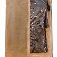 Чехол\кофр для одежды 60*150 см - Цвет бежевый