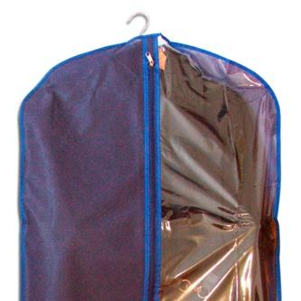 Чехол/кофр для одежды 60*150 см - Цвет синий