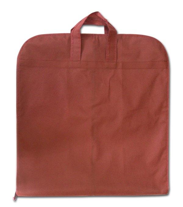 Чехол\кофр для одежды с ручками - Цвет винный