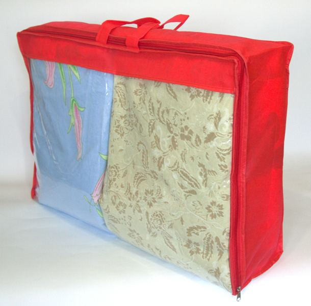 Сумка для хранения вещей\сумка для одеяла M - Цвет красный