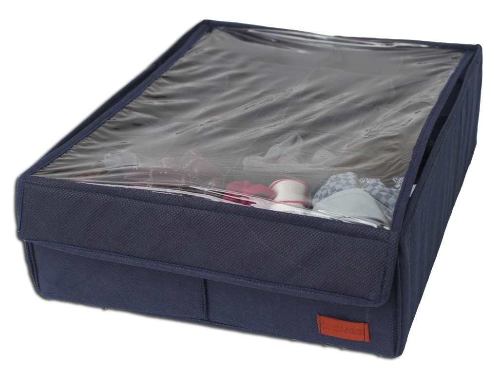 Органайзер на 20 ячеек 1 шт с крышкой - Цвет джинс jns001-kr