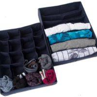 Комплект органайзеров из 2 шт - Цвет джинс