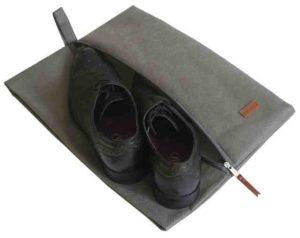 Объемная сумка-пыльник для обуви на молнии4