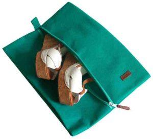 Объемная сумка-пыльник для обуви на молнии5