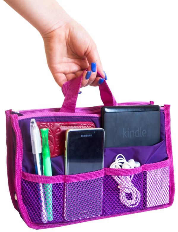 Органайзер для сумки ORGANIZE - Цвет фиолетовый