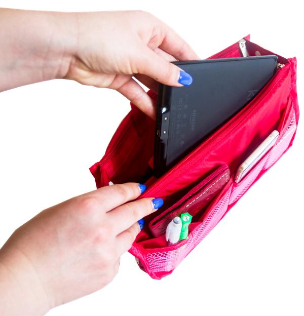 Органайзер для сумки ORGANIZE - Цвет красный