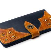 Wallet-Gato-Negro-Retro-Blue-Orange-4