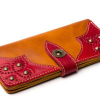 Wallet-Gato-Negro-Retro-Orange-Red-4