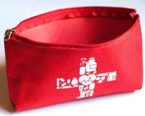 Органайзер для лекарств - цвет красный
