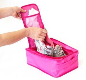 Органайзер для обуви/в зал/на пляж - Цвет розовый