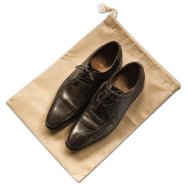 Мешок-пыльник для обуви с затяжкой - Цвет бежевый