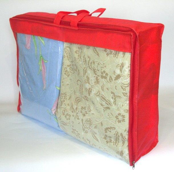 Сумка для хранения вещей\сумка для одеяла L - Цвет красный