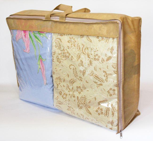 Сумка для хранения вещей\сумка для одеяла M - Цвет бежевый
