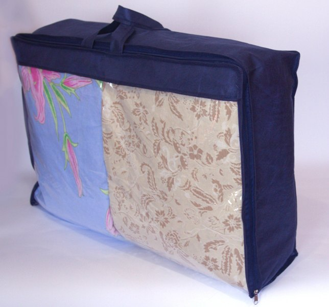 Сумка для хранения вещей\сумка для одеяла S - Цвет синий