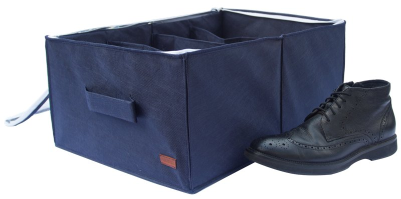 Органайзер для обуви на 4 пары - Цвет джинс