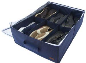 Органайзер для обуви на 6 пар - Цвет джинс
