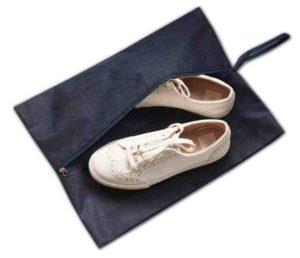 Объемная сумка-пыльник для обуви на молнии1