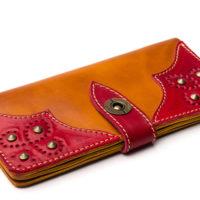 Wallet-Gato-Negro-Retro-Orange-Red-4