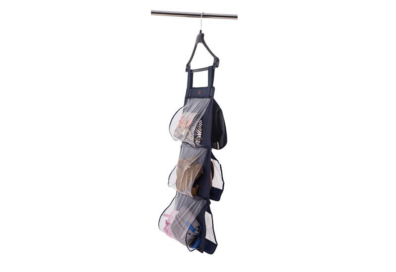 Подвесной органайзер для хранения сумок S - Цвет синий