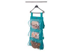 Подвесной органайзер для хранения сумок S - Цвет лазурь