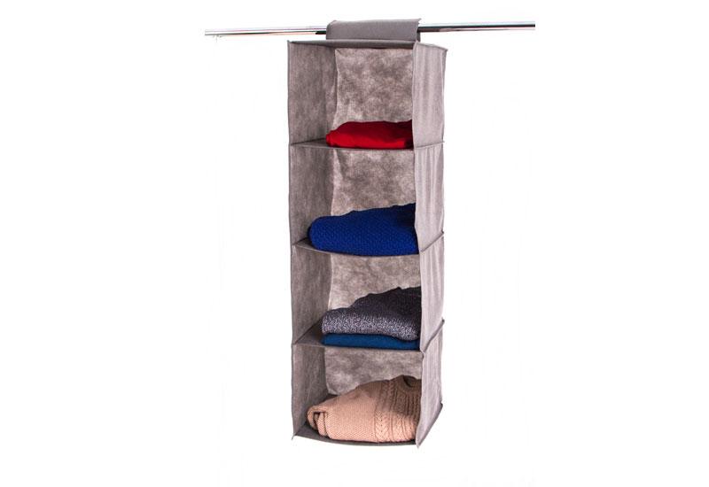 Подвесной модуль в шкаф для вещей без ящика L - Цвет серый
