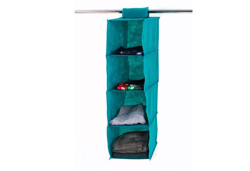 Подвесной модуль в шкаф для вещей без ящика M - Цвет лазурь HP-M