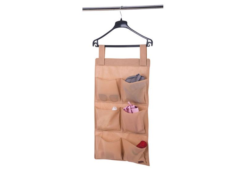Подвесной органайзер с карманами - Цвет бежевый HPocket