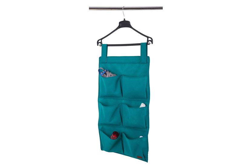 Подвесной органайзер с карманами - Цвет лазурь