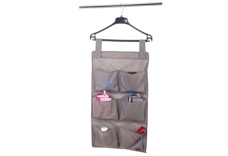 Подвесной органайзер с карманами - Цвет серый HPocket