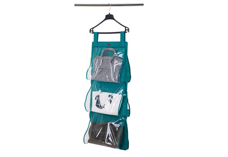 Подвесной органайзер для хранения сумок L  - Цвет лазурь Hbag-L