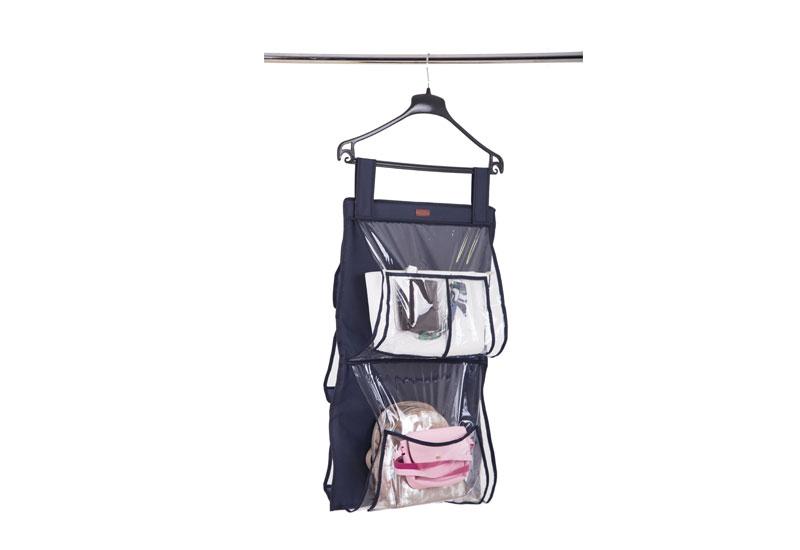 Подвесной органайзер для хранения сумок Plus  - Цвет синий Hbag-Plus