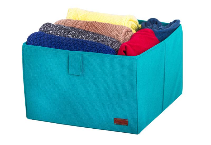 Ящик-органайзер для хранения вещей L - Цвет лазурь