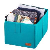 Ящик-органайзер для хранения вещей M - Цвет лазурь