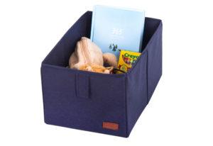 Ящик-органайзер для хранения вещей M - Цвет джинс