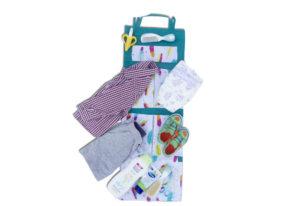 Подвесной органайзер для шкафчика/в детский сад - Расцветка перышки