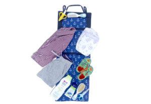 Подвесной органайзер для шкафчика/в детский сад - Расцветка якоря