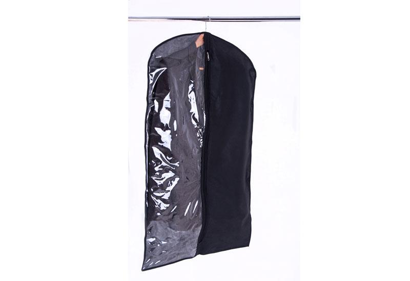 Чехол/кофр для одежды 60*100 см - Цвет черный