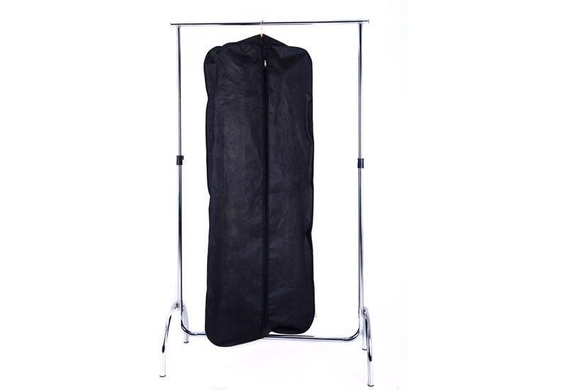 Чехол объемной для верхней одежды с ручками 60*150*15 см  - Цвет черный HCh-150-15