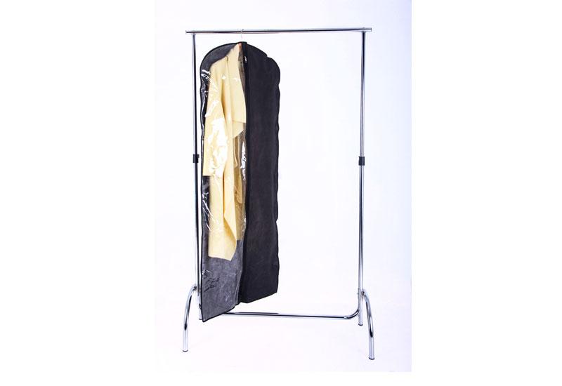 Чехол/кофр для одежды 60*150 см - Цвет черный HCh-150