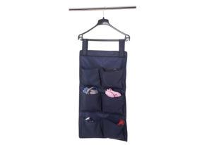 Подвесной органайзер с карманами - Цвет синий