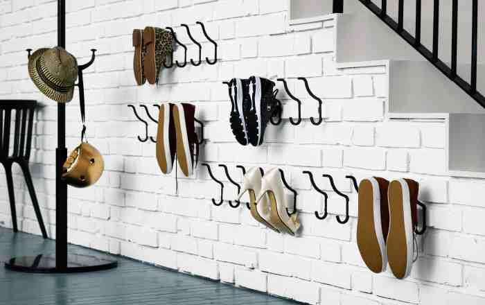 Интересные идеи для хранения обуви