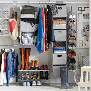 хранение обуви в маленькой квартире