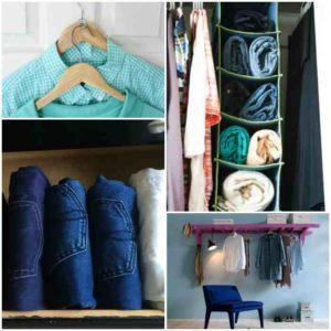 органайзеры хранение джинсов