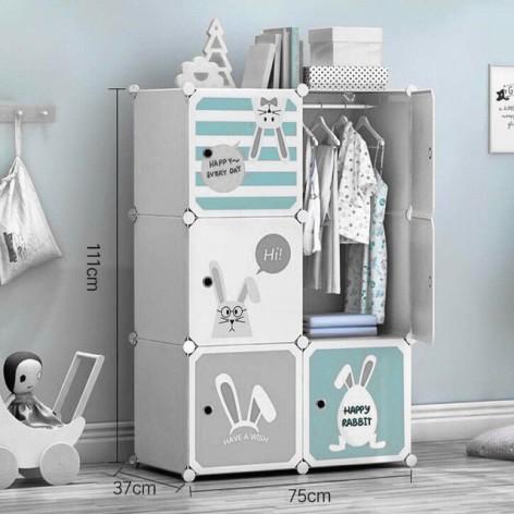 Домашний шкаф для хранения вещей в детской