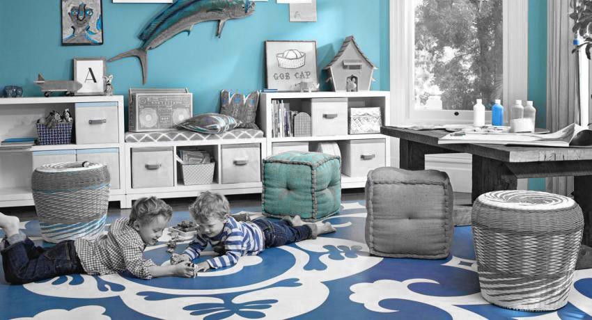 Хранение и порядок в детской комнате